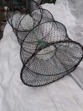 Ятерь рыболовный Ø 40х80 см пружина