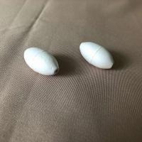 Поплавок рыболовный для оснастки сетематериалов # 2 (пенопласт) белый