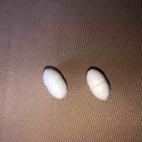 Поплавок рыболовный для оснастки сетематериалов # 1 (пенопласт) белый