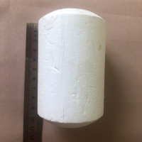 Поплавок рыболовный для оснастки сетематериалов # 15 (пенопласт) белый