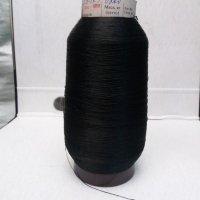 Нить капроновая посадочно-порежная текс 29х3 (0,3 мм) вес 200 г черная